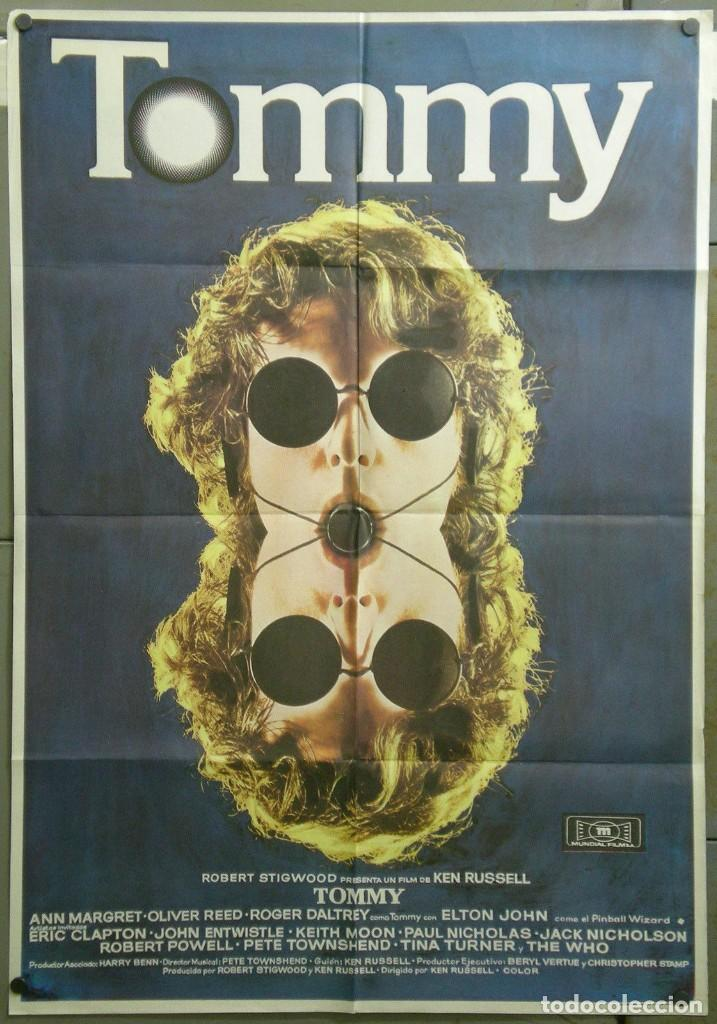 TM61D TOMMY KEN RUSSELL THE WHO POSTER ORIGINAL 70X100 ESTRENO (Cine - Posters y Carteles - Musicales)