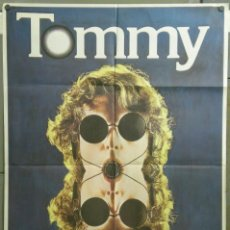 Cine: TM61D TOMMY KEN RUSSELL THE WHO POSTER ORIGINAL 70X100 ESTRENO. Lote 216831835