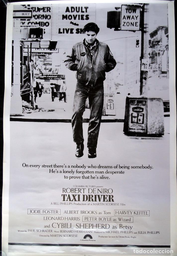 CARTEL DE CINE - TAXI DRIVER - MADE IN USA (Cine- Posters y Carteles - Drama)
