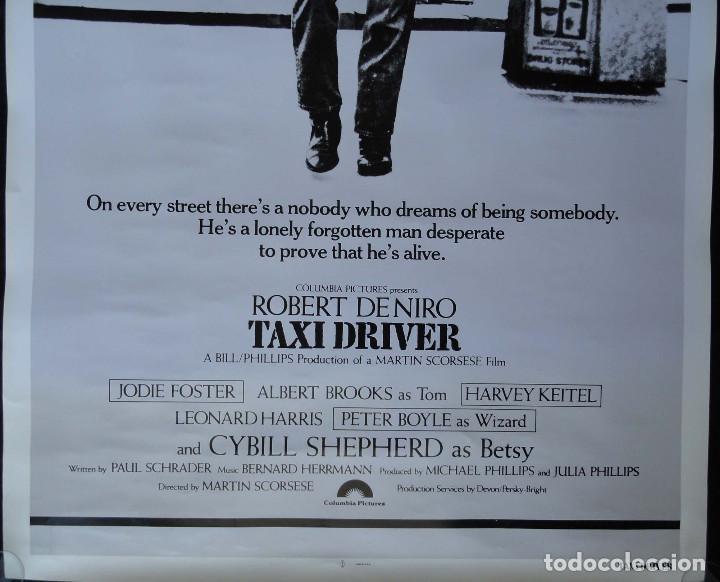Cine: Cartel de cine - TAXI DRIVER - Made in USA - Foto 6 - 216962982