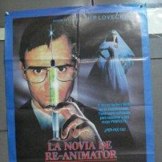 Cine: AAN64 LA NOVIA DE RE-ANIMATOR H. P. LOVECRAFT BRIAN YUZNA POSTER ORIGINAL 70X100 ESTRENO. Lote 217018211