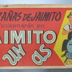 Cine: CARTEL LAS HAZAÑAS DE JAIMITO, LE ENTUSIASMARAN EN JAIMITO ES UN AS, EXCLUSIVAS ARAJOL - LITOGRAFIA. Lote 217021686