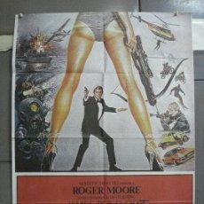 Cine: AAN68 SOLO PARA SUS OJOS JAMES BOND 007 ROGER MOORE POSTER ORIGINAL 70X100 ESPAÑOL. Lote 217028116