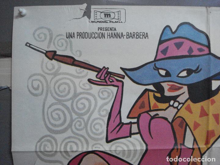 Cine: CDO 4854 EL SUPERAGENTE PICAPIEDRA FLINSTONES SERIE TV DIBUJOS ANIMADOS POSTER ORIG 70X100 ESTRENO - Foto 2 - 217086710