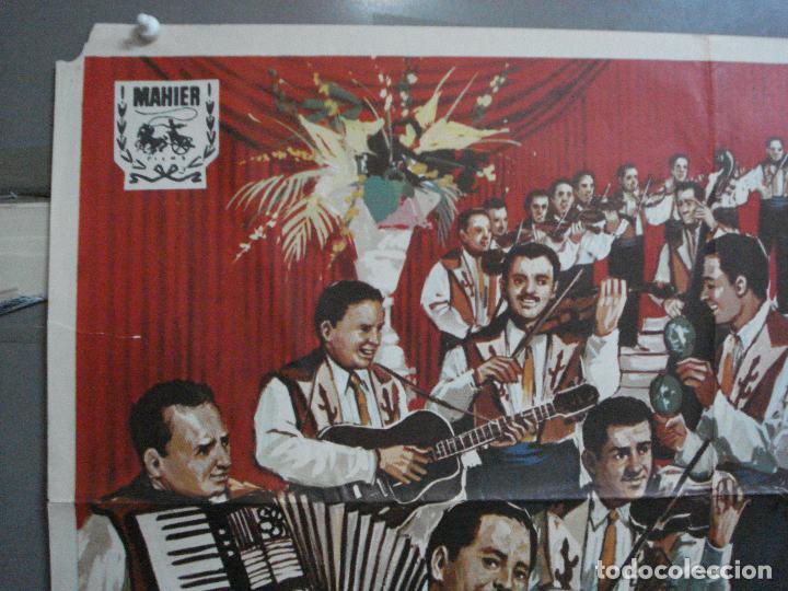 Cine: CDO 4873 LEVANDO ANCLAS GENE KELLY FRANK SINATRA ALVARO POSTER ORIGINAL 70X100 ESPAÑOL - Foto 2 - 217094688