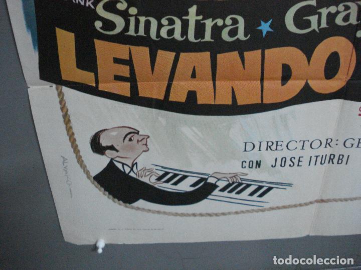 Cine: CDO 4873 LEVANDO ANCLAS GENE KELLY FRANK SINATRA ALVARO POSTER ORIGINAL 70X100 ESPAÑOL - Foto 5 - 217094688