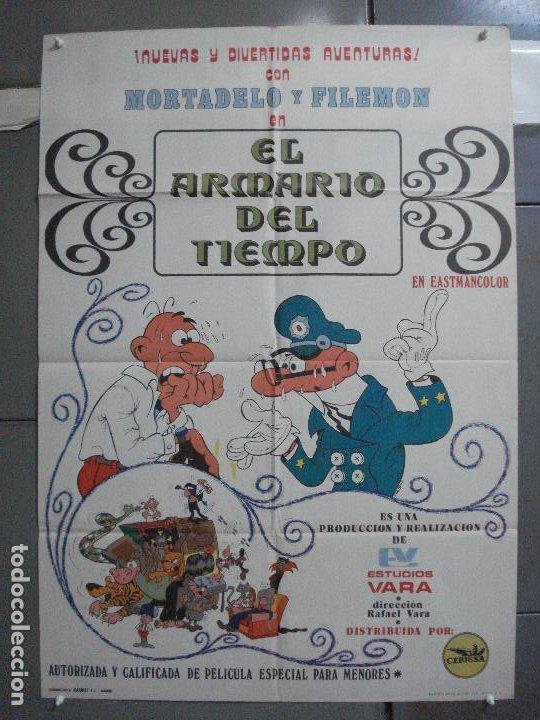 CDO 4880 EL ARMARIO DEL TIEMPO MORTADELO Y FILEMON IBAÑEZ POSTER ORIGINAL 70X100 ESTRENO (Cine - Posters y Carteles - Infantil)