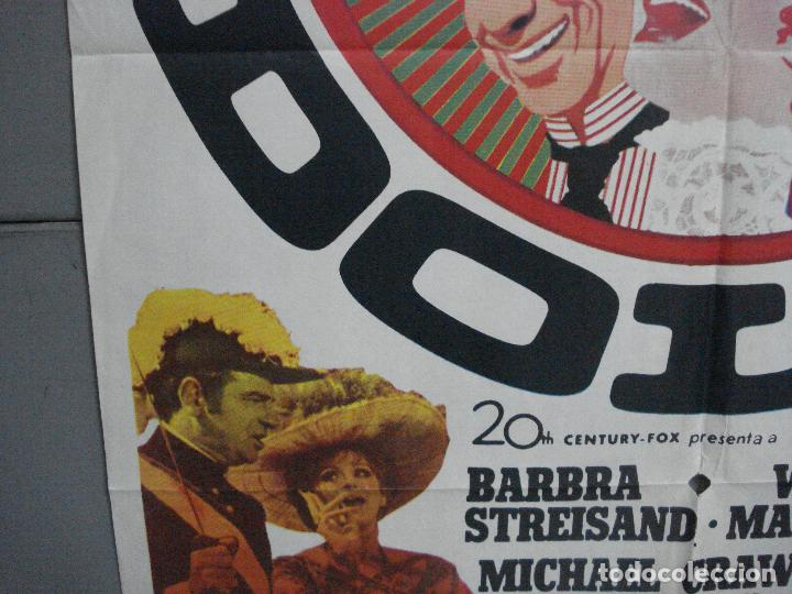 Cine: CDO 4887 HELLO DOLLY BARBRA STREISAND GENE KELLY MAC POSTER ORIGINAL 70X100 ESTRENO - Foto 4 - 217104100