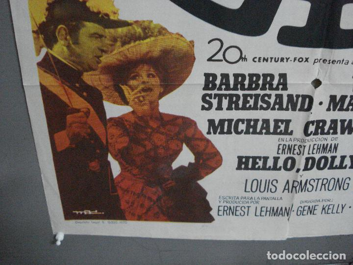 Cine: CDO 4887 HELLO DOLLY BARBRA STREISAND GENE KELLY MAC POSTER ORIGINAL 70X100 ESTRENO - Foto 5 - 217104100