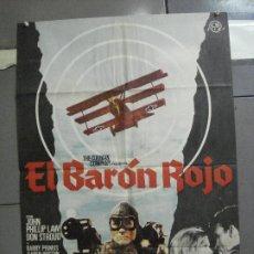 Cine: CDO 4888 EL BARON ROJO ROGER CORMAN JOHN PHILIP LAW POSTER ORIGINAL 70X100 DEL ESTRENO. Lote 217104300