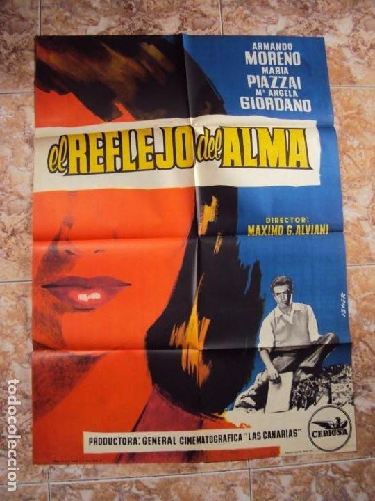 (CINE-389)EL REFLEJO DEL ALMA - CARTEL ORIGINA (Cine - Posters y Carteles - Acción)