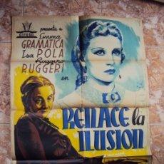 Cine: (CINE-394)CARTEL ORIGINAL RENACE LA ILUSIÓN, CON ISA POLA. Lote 217113986