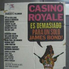 Cine: AAN97 CASINO ROYALE JAMES BOND 007 WOODY ALLEN POSTER ORIGINAL ESPAÑOL 70X100 R-77. Lote 217121256