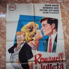 Cine: (CINE-408)ROMANOFF Y JULIETA - JANO - CARTEL ORIGINAL. Lote 217124152