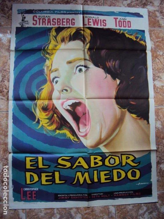 (CINE-413)EL SABOR DEL MIEDO - CARTEL ORIGINAL (Cine - Posters y Carteles - Terror)