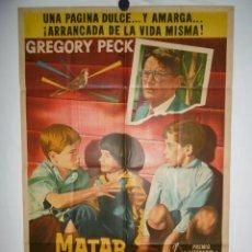 Cine: MATAR A UN RUISEÑOR - 1962 - 110 X 75. Lote 217127466