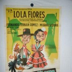 Cine: MORENA CLARA - 1936 - 110 X 75. Lote 217128731