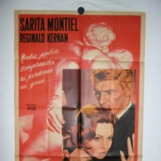 Cine: PECADO DE AMOR - 1961 - 110 X 75 - MODELO B. Lote 217129006