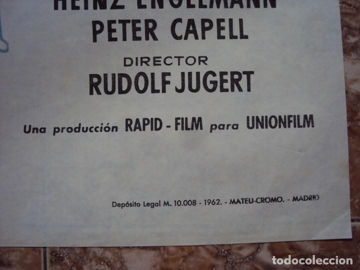 Cine: (CINE-431)EL SECRETO DE UNA NOCHE - CARTEL ORIGINAL - Foto 2 - 217132391