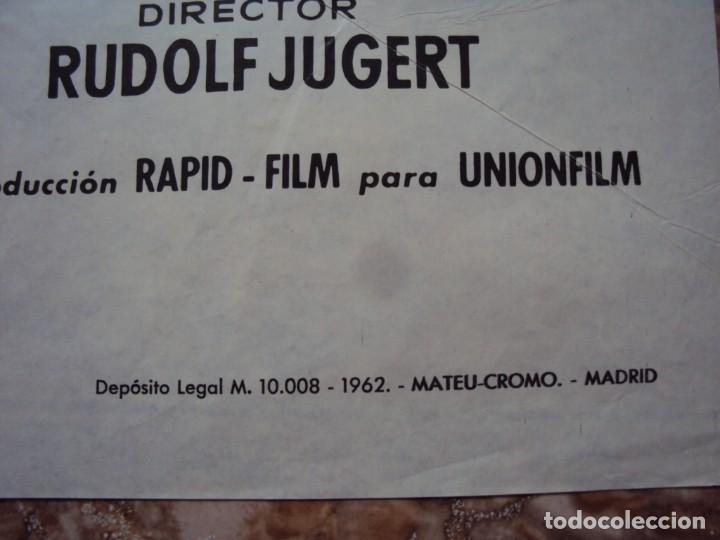 Cine: (CINE-432)EL SECRETO DE UNA NOCHE - CARTEL ORIGINAL - Foto 2 - 217132523