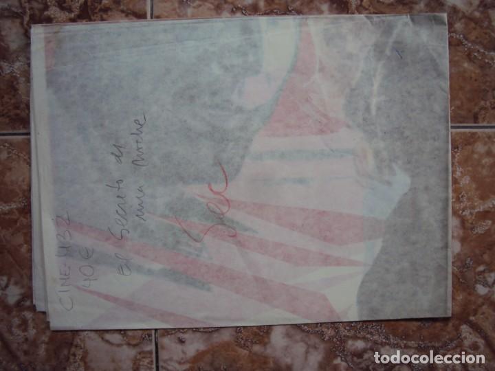 Cine: (CINE-432)EL SECRETO DE UNA NOCHE - CARTEL ORIGINAL - Foto 4 - 217132523