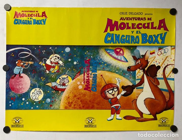AVENTURAS DE MOLECULA Y EL CANGURO BOXY. CARTEL PROMOCIONAL PELÍCULA DIBUJOS (1978). (Cine - Posters y Carteles - Infantil)