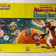 Cine: AVENTURAS DE MOLECULA Y EL CANGURO BOXY. CARTEL PROMOCIONAL PELÍCULA DIBUJOS (1978).. Lote 217153731