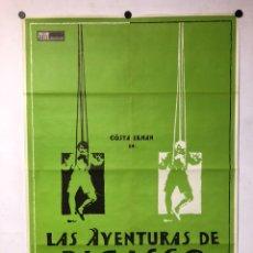 Cine: LAS AVENTURAS DE PICASSO. GÖSTA EKMAN. CARTEL PROMOCIONAL DE LA PELÍCULA (1978).. Lote 217157943