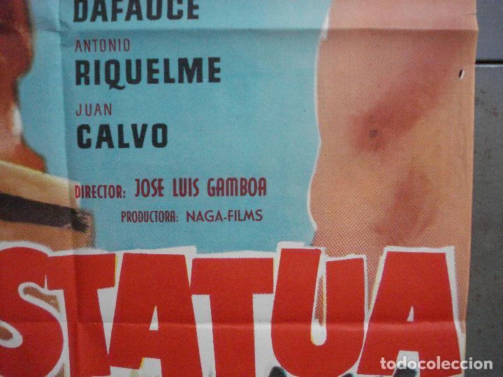 Cine: CDO 4898 LA ESTATUA ANTONIO RIQUELME FUTBOL POSTER ORIGINAL 70X100 ESTRENO - Foto 7 - 217217851