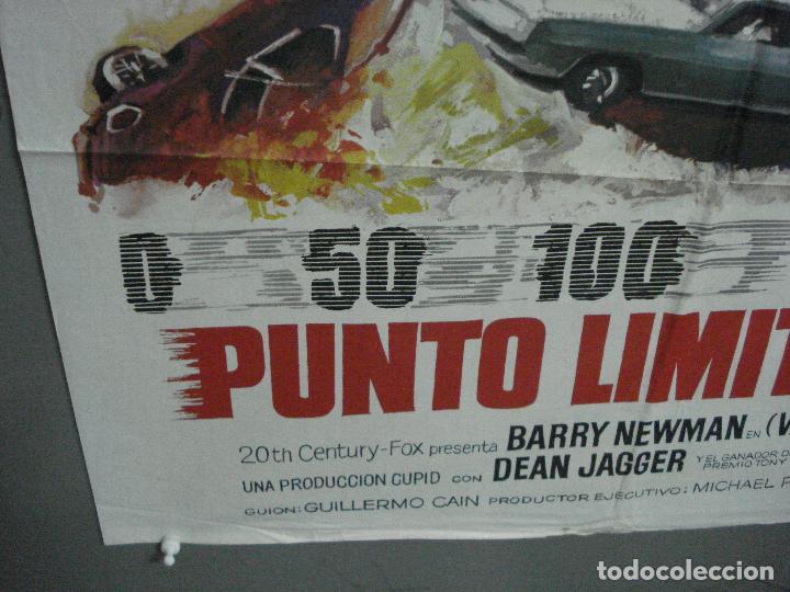 Cine: CDO 4902 PUNTO LIMITE CERO vanishing point BARRYNEWMAN MAC POSTER ORIGINAL 70X100 ESTRENO - Foto 5 - 217219671