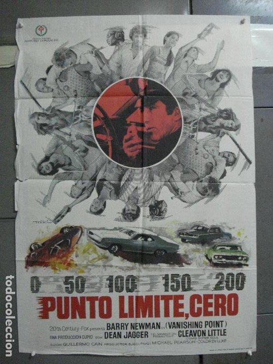CDO 4902 PUNTO LIMITE CERO VANISHING POINT BARRYNEWMAN MAC POSTER ORIGINAL 70X100 ESTRENO (Cine - Posters y Carteles - Acción)