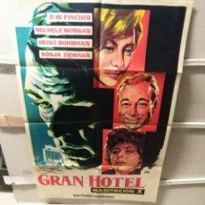 Cine: GRAN HOTEL HABITACIÓN X POSTER ORIGINAL 70X100 YY (2386)LITOGRAFÍA. Lote 217227085
