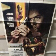 Cine: ME ENVENENO DE AZULES JUNIOR CHARO LOPEZ POSTER ORIGINAL 70X100 YY (2388). Lote 217234595