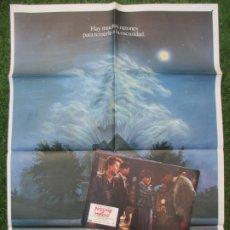Cine: CARTEL CINE + 12 FOTOCROMOS NOCHE DE MIEDO CHRIS SARANDON 1985 CCF169. Lote 217237750