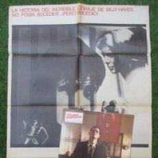 Cine: CARTEL CINE + 12 FOTOCROMOS EL EXPRESO DE MEDIANOCHE 1978 CCF171. Lote 217238710