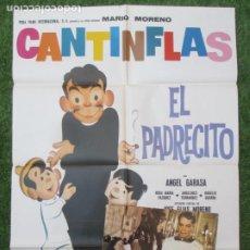 Cine: CARTEL CINE + 12 FOTOCROMOS EL PADRECITO CANTINFLAS MARIO MORENO ANGEL GARASA CCF178. Lote 217240820