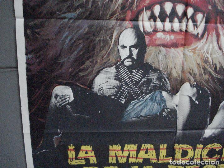 Cine: CDO 4918 LA MALDICION DE LA BESTIA PAUL NASCHY POSTER ORIGINAL 70X100 ESTRENO - Foto 4 - 217243722