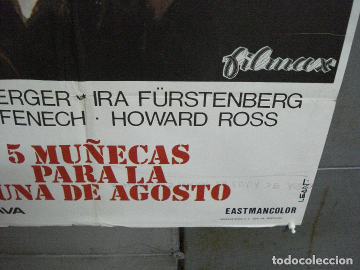 Cine: CDO 4923 5 MUÑECAS PARA LA LUNA DE AGOSTO MARIO BAVA EDWIGE FENECH LEAN POSTER ORIG 70X100 ESTRENO - Foto 9 - 217245718