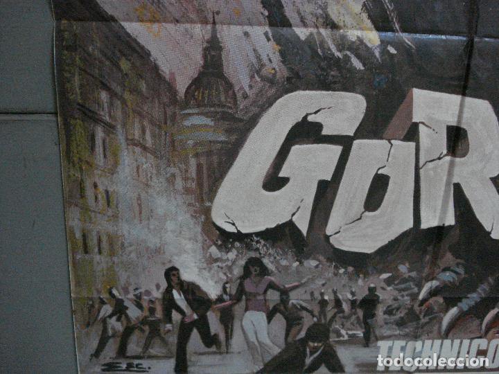 Cine: CDO 4930 GORGO BILL TRAVERS EUGENE LORIE POSTER ORIGINAL ESTRENO 70X100 - Foto 4 - 217250757