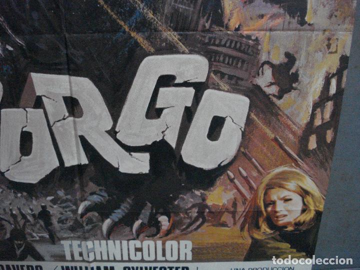 Cine: CDO 4930 GORGO BILL TRAVERS EUGENE LORIE POSTER ORIGINAL ESTRENO 70X100 - Foto 8 - 217250757
