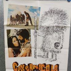 Cine: CAVERNICOLA. RINGO STARR , THE BEATLES. AÑO 1984. POSTER ORIGINAL. Lote 217268116