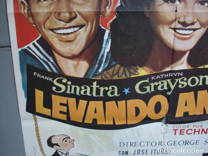 Cine: CDO 4965 LEVANDO ANCLAS GENE KELLY FRANK SINATRA ALVARO POSTER ORIGINAL 70X100 ESPAÑOL - Foto 4 - 217333922