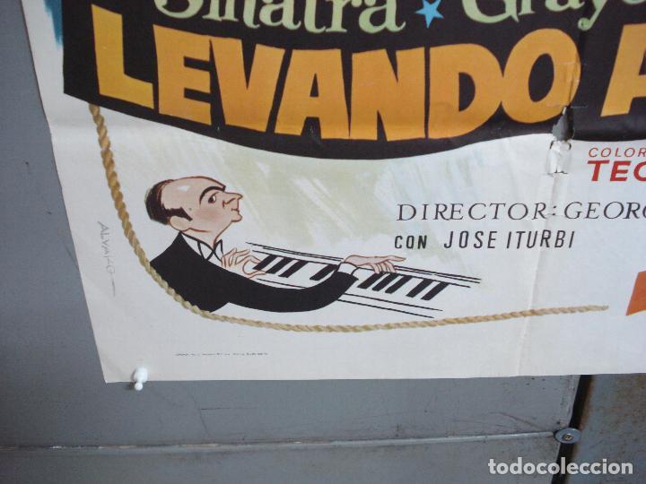 Cine: CDO 4965 LEVANDO ANCLAS GENE KELLY FRANK SINATRA ALVARO POSTER ORIGINAL 70X100 ESPAÑOL - Foto 5 - 217333922
