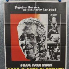 Cine: CON EL AGUA AL CUELLO. PAUL NEWMAN, ANTHONY FRANCIOSA, JOANNE WOODWARD. AÑO 1975. POSTER ORIGINAL. Lote 217337410