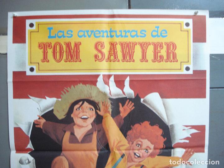 Cine: CDO 4968 LAS AVENTURAS DE TOM SAWYER TOMMY KELLY MARK TWAIN MONTALBAN POSTER ORIGINAL 70X100 ESPAÑOL - Foto 2 - 217337981