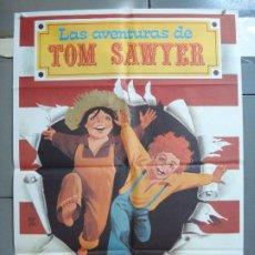 Cine: CDO 4968 LAS AVENTURAS DE TOM SAWYER TOMMY KELLY MARK TWAIN MONTALBAN POSTER ORIGINAL 70X100 ESPAÑOL. Lote 217337981