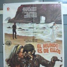 Cinéma: CDO 4974 EL MUNDO ES DE ELLOS MICHAEL PARKS BONNIE BEDELIA TV SERIES POSTER ORIGINAL 70X100 ESTRENO. Lote 217349453