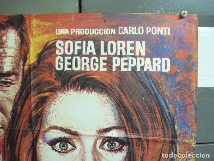 Cine: CDO 4982 OPERACION CROSSBOW SOFIA LOREN GEORGE PEPPARD POSTER ORIGINAL 70X100 ESPAÑO R-75 - Foto 6 - 217353032