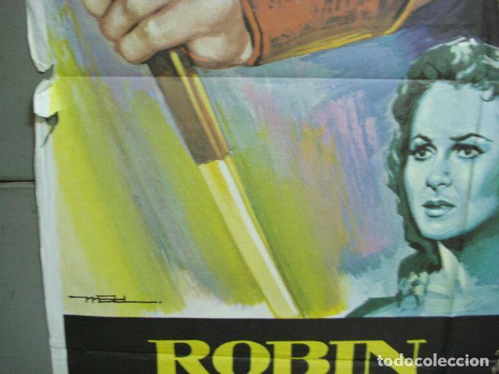 Cine: CDO 4990 ROBIN DE LOS BOSQUES ERROL FLYNN MAC POSTER ORIGINAL 70X100 ESPAÑOL R-78 - Foto 4 - 217371042