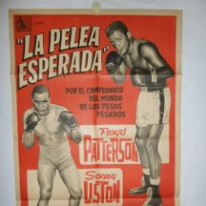 Cine: LA PELEA ESPERADA - 1955 - 110 X 75. Lote 217409096